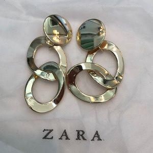Oversized Zara Clip-on earrings